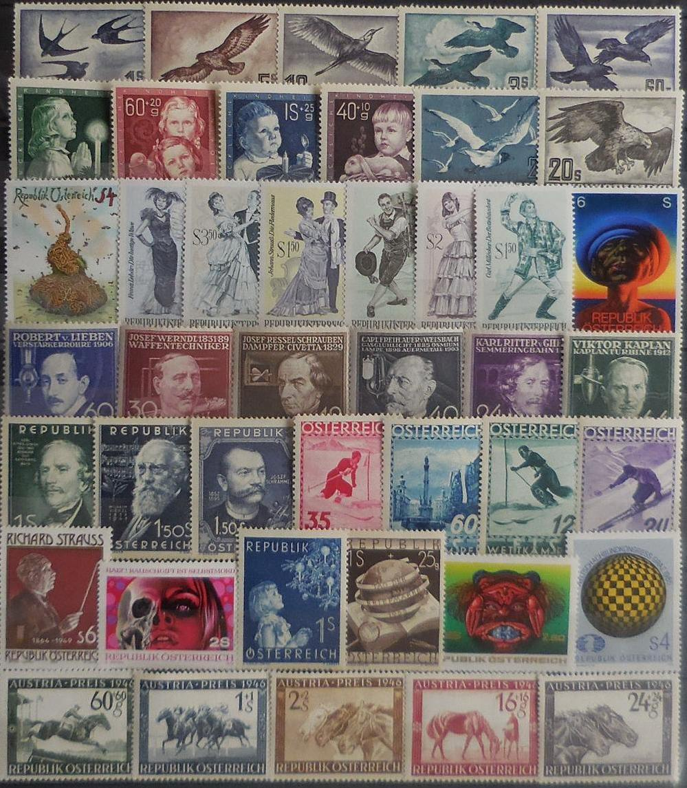 Austrian stamps for collectors on approval