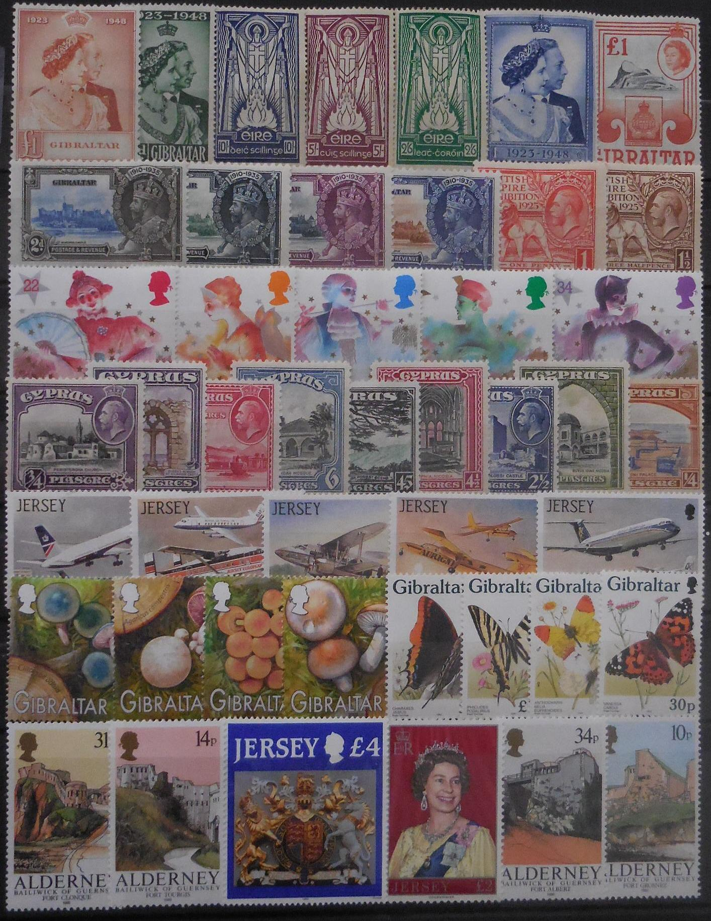 British europe stamps for collectors on approval