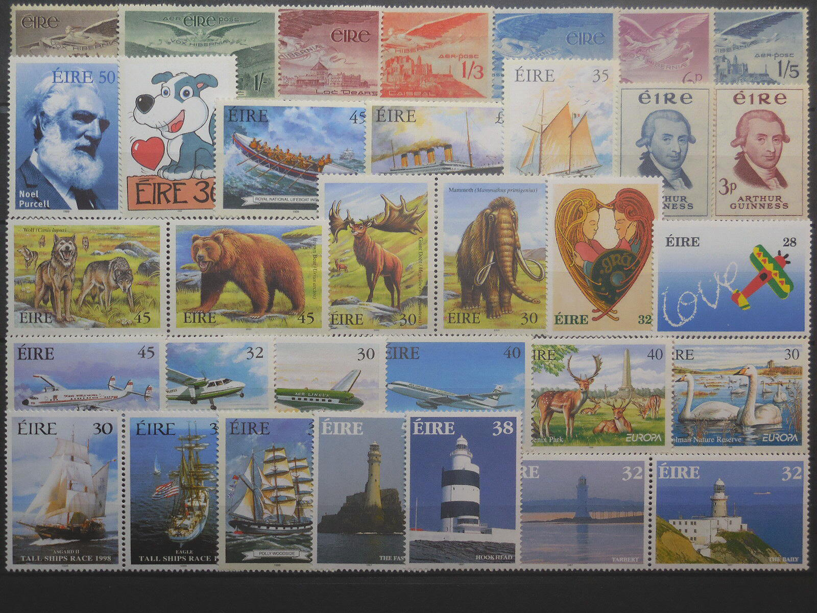 Irish stamps for collectors on approval